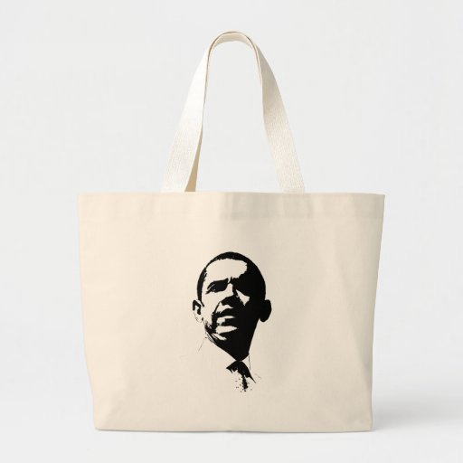 BARACK HUSSEIN OBAMA -.png Canvas Bags