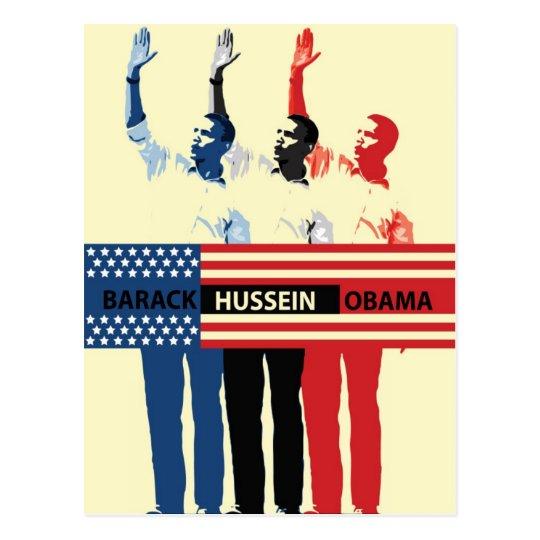 Barack Hussein Obama Postcard