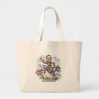 Barack in the Saddle 2012 Tote Bag