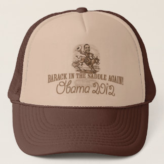 Barack in the Saddle 2012 Trucker Hat