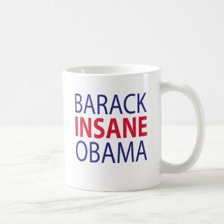 Barack Insane Obama Mug