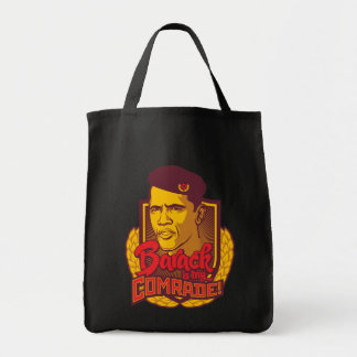 Barack Is My Comrade Tote Bag