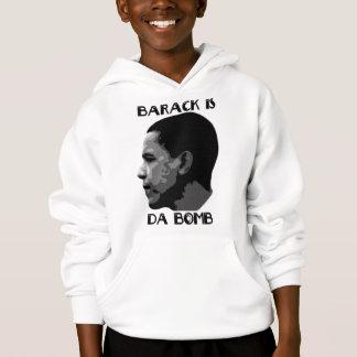 Barack Is The Bomb Mens Hoodie