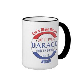 Barack Make History Again Mug