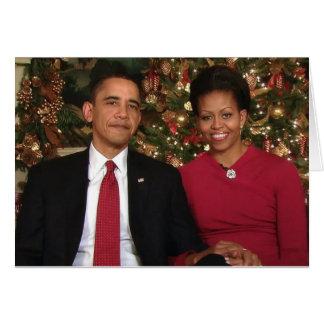 Barack & Michelle 2009WA-Greeting Card