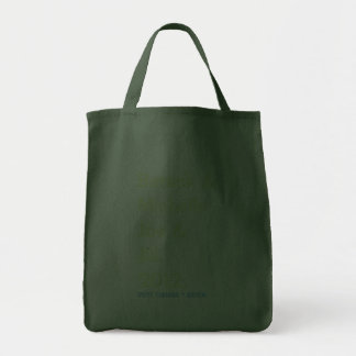 Barack Michelle Joe and Jill 2012 Green Tote Bag