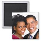 Barack & Michelle Obama Magnet