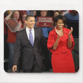 Barack & Michelle Obama Mouse Pad