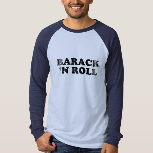 Barack n Roll Vintage.png Tshirt