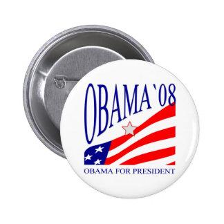 Barack Obama 2008 Round Button - Customized