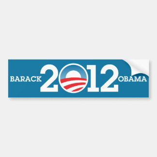 BARACK OBAMA 2012 | BUMPER STICKER
