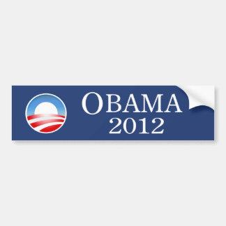 Barack Obama 2012 Bumper Sticker