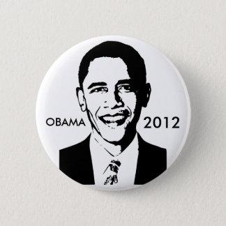 Barack Obama 2012 Button