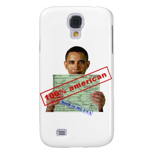 Barack Obama 2012 Galaxy S4 Covers