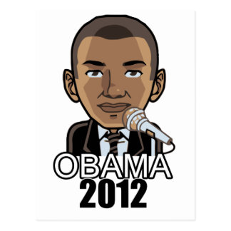 Barack Obama: 2012 Election Postcard