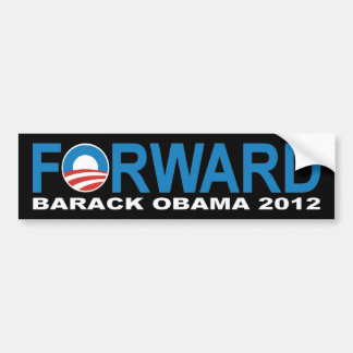 Barack Obama 2012 'Forward' Bumper Sticker