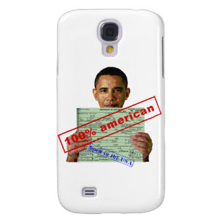 Barack Obama 2012 Galaxy S4 Case