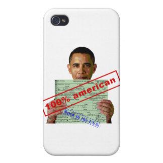Barack Obama 2012 iPhone 4 Cases