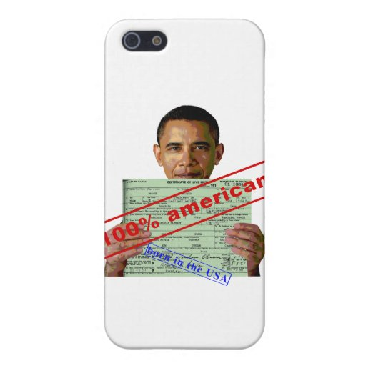 Barack Obama 2012 Covers For iPhone 5