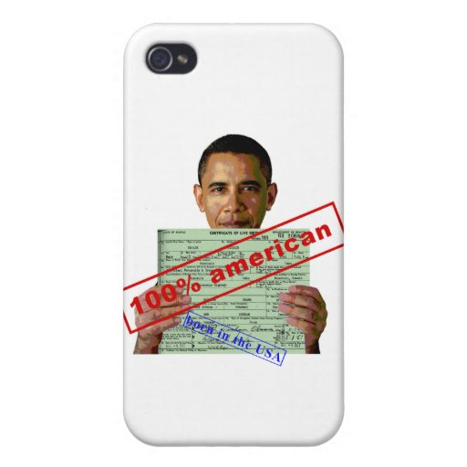 Barack Obama 2012 Cover For iPhone 4