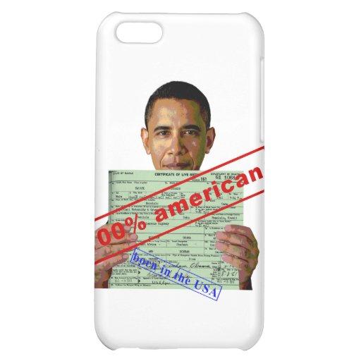 Barack Obama 2012 Case For iPhone 5C