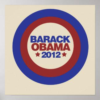 Barack Obama 2012 Posters