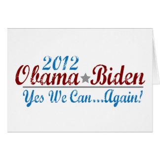 barack obama 2012 re-elect card