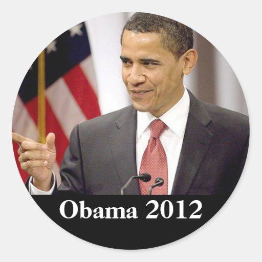 Barack Obama 2012 Sticker