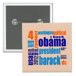 Barack Obama 2012 Tag Cloud Button