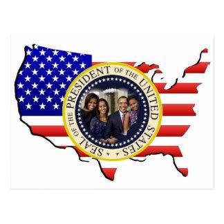 Barack Obama 2012 US President Post Cards