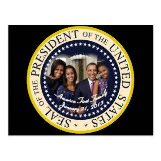 Barack Obama 2012 US President Postcards
