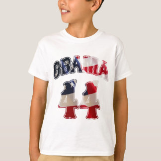 Barack Obama 44 flag t shirt