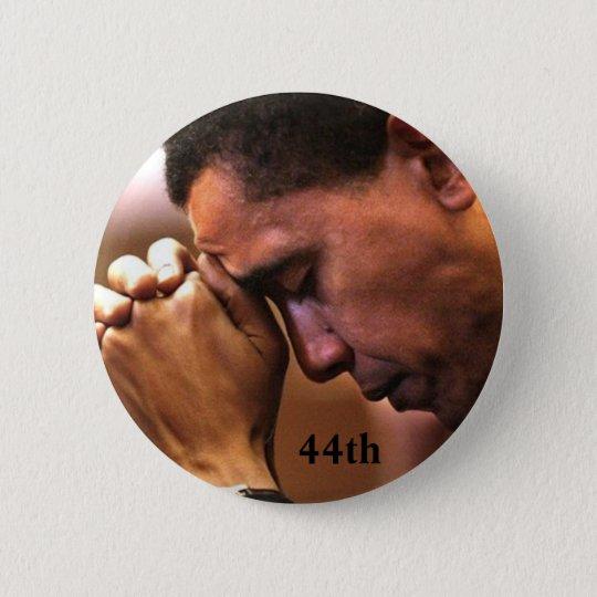 Barack Obama 44th President Button