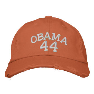 Barack Obama 44th President Embroi... - Customized Embroidered Hat