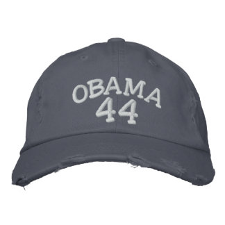 Barack Obama 44th President Embroidered Hat