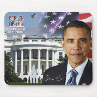 Barack Obama - 44th President of the U.S. Mouse Pad