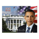 Barack Obama - 44th President of the U.S. Postcard