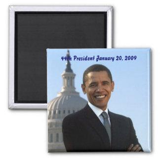 barack-obama 44th President Square Magnet