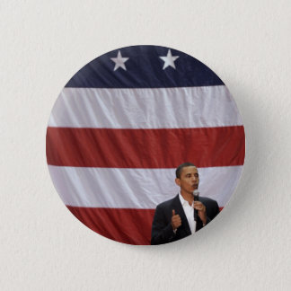 Barack Obama 6 Cm Round Badge