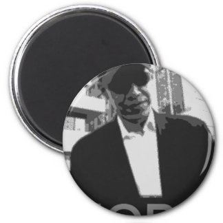 Barack Obama 6 Cm Round Magnet