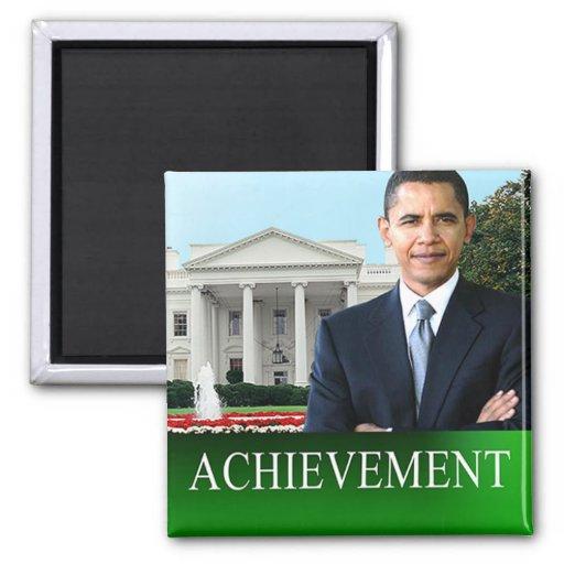 Barack Obama Achievement Magnet