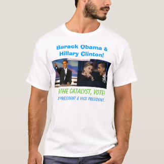 Barack Obama and Hillary Clinton T-Shirt