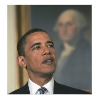 Barack Obama announce his intent to nominate Photograph