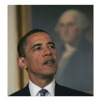 Barack Obama announce his intent to nominate Poster