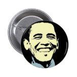 Barack Obama Art 6 Cm Round Badge
