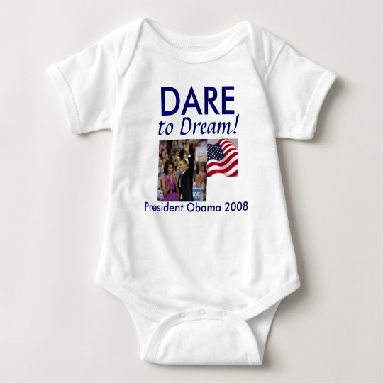 Barack Obama Baby Bodysuit