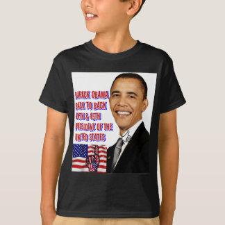 Barack Obama,Back To Back_ T-Shirt