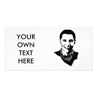Barack Obama Bandana Photo Cards