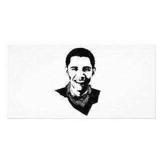 Barack Obama Bandana Customized Photo Card