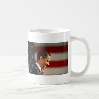 Barack Obama Basic White Mug
